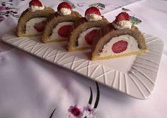 Túrós, epres alagút Cheesecake, Muffin, Pie, Breakfast, Food, Decor, Torte, Morning Coffee, Decoration