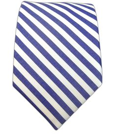 $15 Candy Stripe - Soft Navy (Cotton) - Candy Stripe - Soft Navy (Cotton) Ties