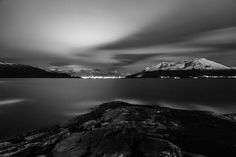 "38 likerklikk, 0 kommentarer – @shadows_at_night på Instagram: ""The day i tok my favoritt picture, i had gotten a new lens, and i drove to this beautiful coastal…"" Winter Night, New Instagram, Hades, Norway, Mountains, Black And White, Lens, Pictures, Photography"