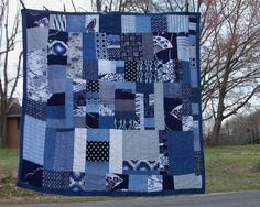 Quilted in freehand rows, emulating the farmer boro utiliy textiles of Japan mid century.
