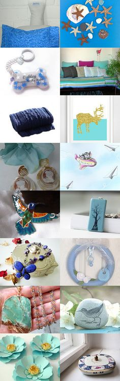Blue by Laura P. on Etsy--Pinned with TreasuryPin.com