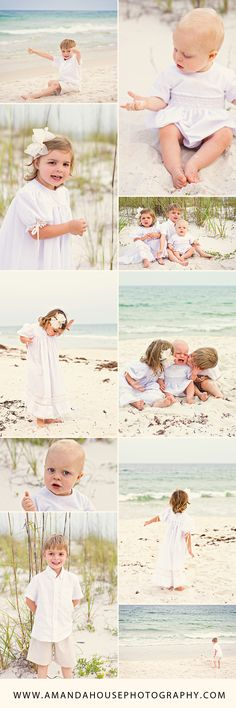 Children's Beach Session Ideas | Amanda House Photography