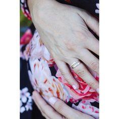 We love this mama-to-be ring stack on @askclare  #mama #christinakoberdesigns