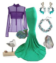 """""""Ariel"""" by katherineinsley-candi on Polyvore featuring Space Style Concept, Tasha and Chloe + Isabel"""