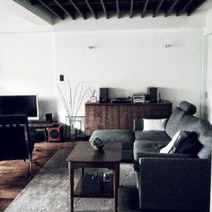 anaberuさんの、On Walls,植物,オーディオ,椅子,onkyo,ミッドセンチュリー,レコードプレイヤーについての部屋写真