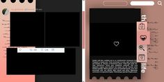 Polaroid Template, Frame Template, Layout Template, Templates, Instagram Frame, Instagram Story Ideas, Editing Pictures, Photo Editing, Instagram Storie