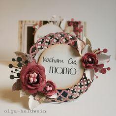 Arts keep me sane.: Na dzień matki znów I Love My Mum, Arts And Crafts, Paper Crafts, Beautiful Handmade Cards, Cute Cards, Card Making, Scrapbooking, Floral, Holiday