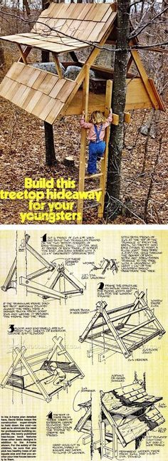 Build Treehouse - Children's Outdoor Plans and Projects