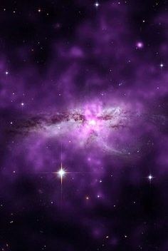 Purple space!