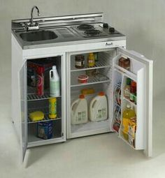 Avanti 30 Inch Complete Compact Kitchen With Refrigerator   White | Camping  Gear | Pinterest | Compact, Refrigerator And Tiny Houses