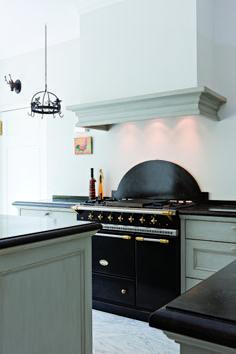 Vougeot Matte Black Lacanche French Stove