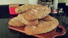Pão semi integral caseiro