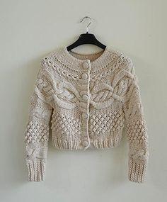 Handmade Accessories surcoat greatcoat coat sweater crochet clothing 02. $64.99, via Etsy.