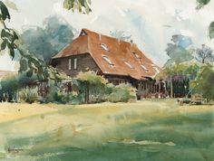 alans-barn-watercolour-keith-hornblower.jpg (1104×835)