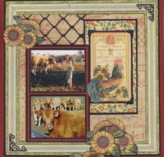 The Stampers Hut: Monthly Scrapbook Kits