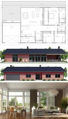 Prefab House Plan, Modular Home plan
