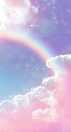 Wallpaper Pastel, Glitter Wallpaper Iphone, Cute Galaxy Wallpaper, Cloud Wallpaper, Rainbow Wallpaper, Butterfly Wallpaper, Aesthetic Pastel Wallpaper, Scenery Wallpaper, Cute Wallpaper Backgrounds