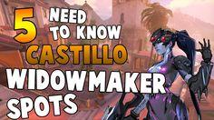 5 Overwatch Widowmaker Spots on Castillo