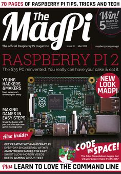 The MagPi is now the official magazine of the Raspberry Pi!