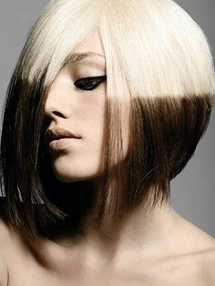 Short hair / Reverse Ombre 2013...luv the cut