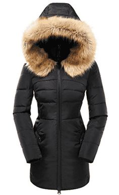 Valuker Women's Down Coat with Fur Hood with Down Parka Puffer Jacket for women winter for women winter coats women coats women casual winter coats for women coats for women coats winter coats women chic for women winter fashion coats for women winter# Down Parka, Parka Coat, Down Coat, Parka Jackets, Winter Jackets Women, Coats For Women, Best Parka, Best Winter Coats, Women's Coats