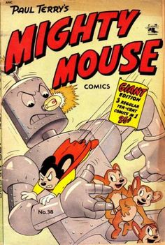 Paul Terry's Mighty Mouse Comics #37 - Rustlers Revenge (Issue)