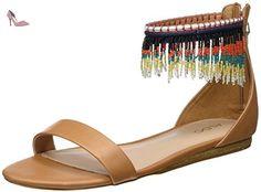Aldo Larysa, Sandales Bride cheville femme, Marron, 40 EU - Chaussures aldo (*Partner-Link)