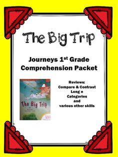 """Use this packet to review the story """"Let's Go to the Moon"""".  The 12 pages cover the following: 1. Title Page2. Story information such as title, author, characters, setting, and author's purpose.3. A list of each mode of transportation Pig would like to take.  4."""