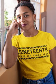 Juneteenth Freeish - Black History, Unisex T-Shirt, Freedom Day, Black Culture, 1865 Shirt Juneteenth Day, Emancipation Day, Black History T Shirts, Freedom Day, Black Pride, Black Is Beautiful, Culture, Unisex, Tees