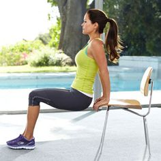 This month Brooke Burke Charvet is launching her first line of fitness DVDs, Tone & Tighten and Strengthen & Condition. We asked her and her trainer, Gregory Joujon-Roche, to set us up with their favorite moves for firming up legs, butt, abs, and arms -- no equipment needed. Do the exercises in a circuit (it takes 5 minutes) without resting, and repeat it once or twice.