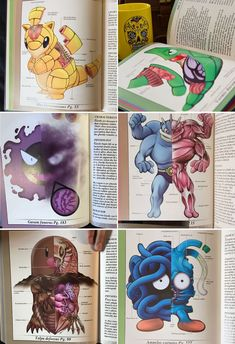 PokeNatomy Book: Welcome to Pokemon biology 101 Pokemon Comics, Pokemon Funny, Pokemon Fan Art, Pokemon Go, Nintendo Pokemon, Pokemon Decor, Pokemon Images, Pokemon Pictures, Original 151 Pokemon