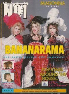 Bananarama Number One cover 4th July 1987 Stock Aitken Waterman Cheer Up