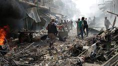 Rezim Asad membunuh 614 warga sipil di Suriah sejak gencatan senjata  DAMASKUS (Arrahmah.com) - Setidaknya 614 warga sipil telah tewas di Suriah sejak perjanjian penghentian permusuhan mulai berlaku pada akhir Februari tahun ini menurut data yang dikumpulkan oleh Anadolu Agency.  Data tersebut berdasarkan laporan yang diajukan oleh Jaringan Suriah untuk Hak Asasi Manusia yang berbasis di Inggris.  Hari yang paling mematikan sejak awal gencatan senjata terjadi pada Selasa (19/4) ketika lebih…