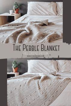 Modern Crochet Blanket, Afghan Crochet Patterns, Baby Blanket Crochet, Crochet Blankets, Crocheting Patterns, Baby Blankets, Crochet Home Decor, Diy Crochet, Crochet Crafts