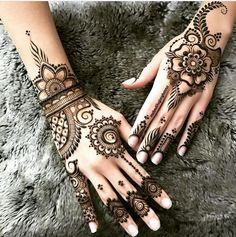 Gorgeous henna by @mehndikajoeyhenna repost @southasiandiaries