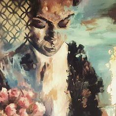 stories are meant to be told . . . . . . . . #artstudio #art #artistsoninstagram #artist #artwork #paint #painting #paintingart #acrylic #contemporaryartist #contemporaryart #contemporarypainting #contemporary #modernart #moderartist #middleeastart #egyptianartist #egyptianart #gallerycurator #gallery #contemporaryrealism