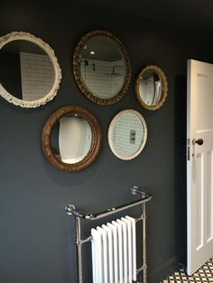 Browse thousands of interior and exterior images from Farrow & Ball. Be inspired with stunning home decor images and design ideas for your home. Bathroom Goals, Attic Bathroom, Small Bathroom, Bathroom Ideas, Paint Colors For Living Room, Living Room Grey, Small Toilet Room, Ideal Bathrooms, Downstairs Toilet