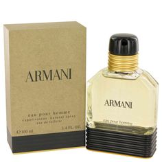 34af253b3624 ARMANI by Giorgio Armani 3.4 oz   100 ml EDT Cologne Spray for Men New in