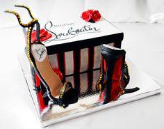 Christian Louboutin Cake   Like the Fan Page: http://www.facebook.com/sweetbudsbakeryfans