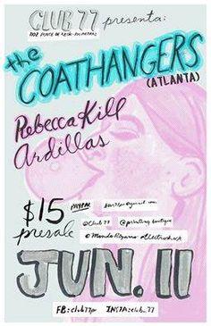 The Coathangers @ Club 77 #sondeaquipr #thecoathangers #club77 #riopiedras #sanjuan