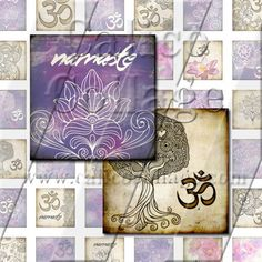 NEW Zen Yoga  Instant Download Digital Collage by calicocollage, $4.15