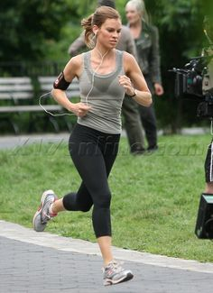 Thinspiration: Hilary Swank - they're not always just born that way. They have to work for it, too.