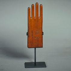 Wooden Glove Form