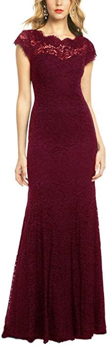 online shopping for REPHYLLIS Women's Retro Floral Lace Vintage Wedding Maxi Bridesmaid Long Dress from top store. See new offer for REPHYLLIS Women's Retro Floral Lace Vintage Wedding Maxi Bridesmaid Long Dress Pretty Dresses, Sexy Dresses, Prom Dresses, Short Sleeve Dresses, Formal Dresses, Long Dresses, Ball Dresses, Lace Bridesmaids, Bridesmaid Dresses