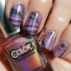 Color Club Halo Hues Watermarble #nails #nailart #naildesign #watermarble