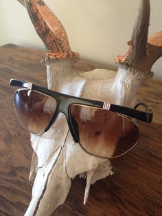 Vintage 80's Christian Dior Sunglasses 2555 by HausofDenimandLace, $110.00