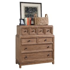 Found it at Wayfair - Ventura 6 Drawer Chest in Oak
