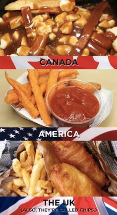 What we do with our fries: | 19 Things America, Canada, And The U.K. Cannot Agree On