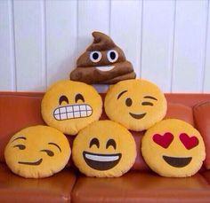 Emoji pillows!!