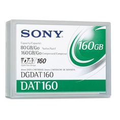 Sony® - 8 mm DAT 160 Cartridge, 154m, 80GB Native/160GB Compressed Capacity - Sold As 1 Each - Superior reliability. by Sony. $57.99. Sony® - 8 mm DAT 160 Cartridge, 154m, 80GB Native/160GB Compressed CapacityCombines the best of proven optical and magnetic technologies to offer users superior reliability. Protect your mission-critical data with a market-leading data cartridge offering efficient dependability. A tough, durable cartridge shell keeps your data safely aw...